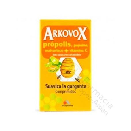 ARKOVOX PROPOLIS + VITAMINA C COMP MASTICABLES 24 COMP SABOR CITRICOS