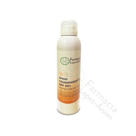 SPRAY TRANSPARENTE SPF50