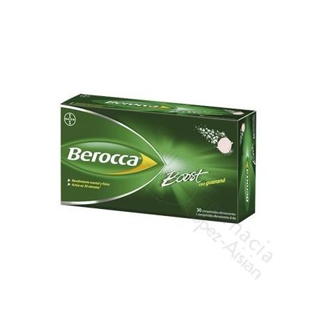 BEROCCA BOOST COMP EFERVESC 30 COMP