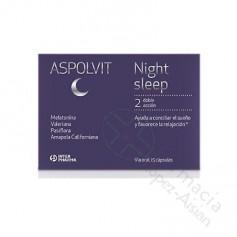 ASPOLVIT NIGHT SLEEP 60 CAPS