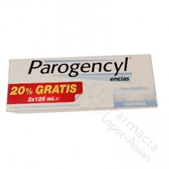 PAROGENCYL CONTROL PASTA DENTAL 125 ML 2 U