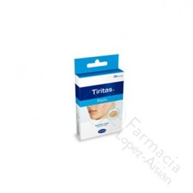 TIRAS ADHESIVAS TIRITAS PLASTIC 19 X 72 20 U