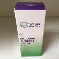 EMULSION ANTIEDAD 50+ OIL FREE FARMACIA