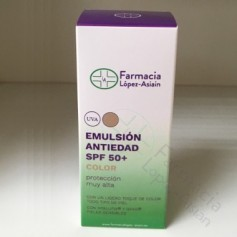 EMULSION ANTIEDAD COLOR 50+