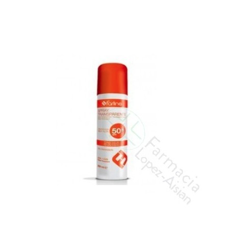 FARLINE SPRAY SOL SPF50+ 200ML