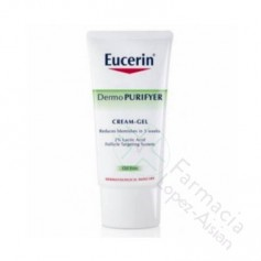 EUCERIN DERMO PURIFYER CREMA-GEL 50 ML