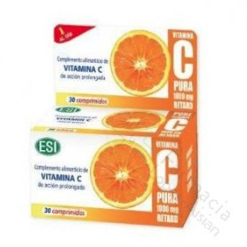VITAMINA C PURA RETARD 1000 MG 30 COMP