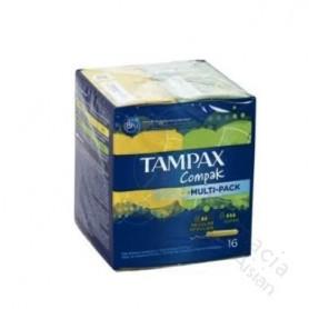 TAMPON TAMPAX COMPAK SUPER 16