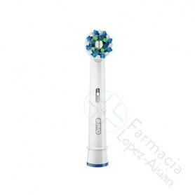 CEPILLO DENTAL ELECTRICO RECAMBIO ORAL B CROSS ACTION 3 CABEZALES