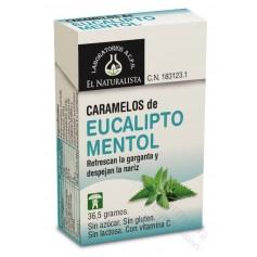 CARAMELOS EUCALIPTO MENTOL EL NATURALISTA