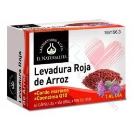 LEVADURA ROJA DE ARROZ EL NATURALISTA60 CAPSULAS