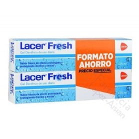 LACER FRESH GEL 125 ML DUPLO