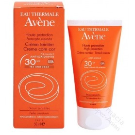 Avene Crema Color Oil Free SPF30 Alta Protección 50 Ml