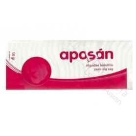 ALGODON ZIGZAG APOSAN 50 G