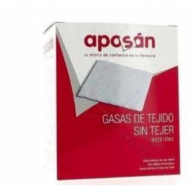 APOSAN GASA ESTERIL TEJIDO SIN TEJER COMPRESAS10 CM X 20 CM 20 GASAS
