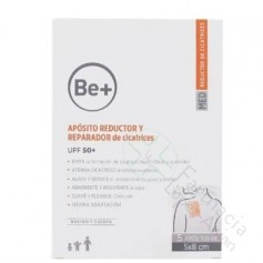 BE+APOSITOS RED Y REP CICATRICES 5X8CM EU 50+