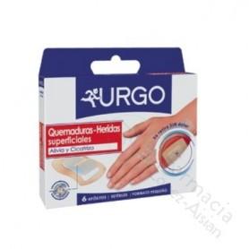 URGO QUEMADURAHIDROCOLOIDE 6 U