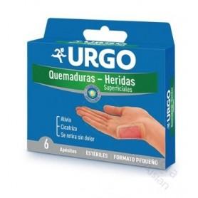 URGO QUEMADURA Y HERIDA SUPERFICIAL7, 3 X 4, 5 CM 4 U