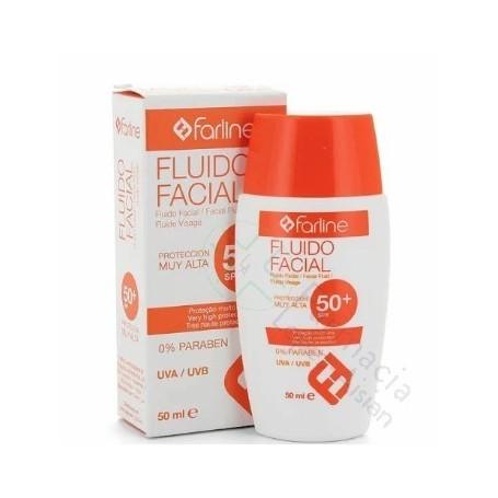FARLINE FLUIDO FACIAL PIEL ATOPICA SPF 50+50 ML