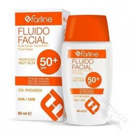 FARLINE FLUIDO FACIAL SPF 50+50 ML
