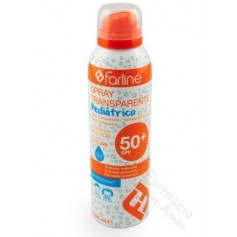 FARLINE SPRAY TRANSPARENTE PEDIATRICO SPF50+200 ML